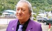 Sen. Tauaa S. Vaouli during a Samoa News interview