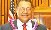 Senate President Gaoteote Palaie Tofau