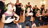 SoCal Samoan Community young siva dancers