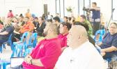 """Participants during the recent launching of the """"Curriculum Guide for American Samoa Constitution and Political Status"""" for high schools' Social Studies classes."""