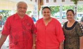 Speaker of the House with family members of Tulifua Tini Lam Yuen