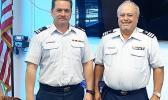 William Sword (right) – flotilla commander; Michael McDonald – vice commander