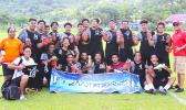 The Tafuna Jets' men's soccer team