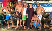 Candyman, Tisa and Aumua Amata with Tattoo Fest participants