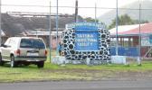 TCF Territorial Correctional Facility sign