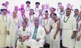 "Group photo after the ""Toa O Samoa"" church service"