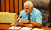 SG Treasurer Ueligitone Tonumaipe'a
