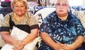 Senate President, Sen. Tuaolo Manaia Eti Tuiletufuga Fruean and his wife, Fiapaipai Fruean