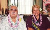 Sen. Tuaolo M. Fruean and wife Fiapaipai