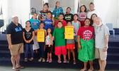 """Uelese Petaia, actor and performing arts activist gave acting tips to youngsters of the Silipas Playhouse, as it prepares to stage """"Twinderella"""". Petaia can be currently seen in """"1000 Ropes"""" — a Samoan-language drama film from the writer and director of the Orator, Tusi Tamasese. Tickets are on sale for $10 for Twinderella, set to be performed this week - on Wednesday and Thursday. Children below 10 years are free.  Doors open at 5:30 p.m. [Courtesy photo]"""