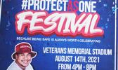 """""""Protect AS One - Festival"""" poster"""