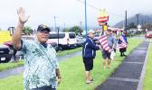 Veterans wave on 4th of July